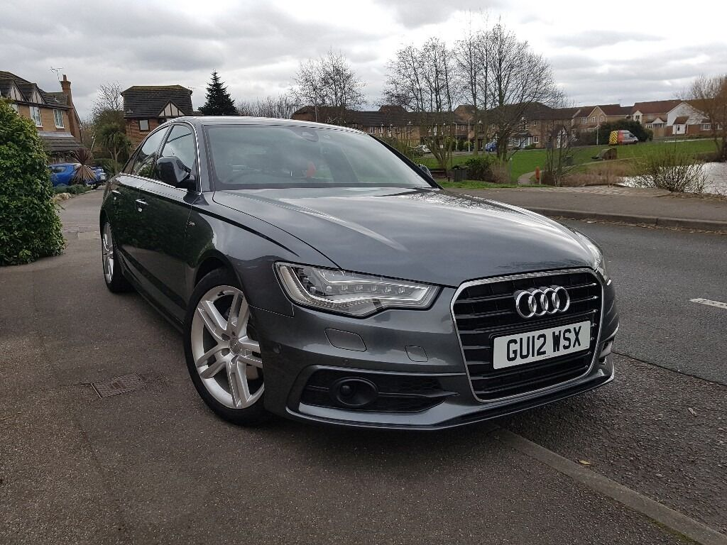 audi a6 s line 2 0tdi 177hp daytona grey pearl 1 year mot full service history one of a kind. Black Bedroom Furniture Sets. Home Design Ideas