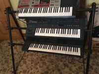 3tier keyboard stand
