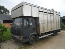DAF 45 7.5 TON CATTLE/ HORSE BOX 2000