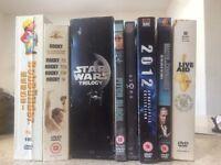 Bundle of DVD's.