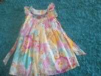Monsoon girls dress ages 11-12 years