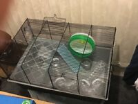 Hamster Cages, 2 to be sold great condition