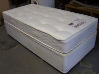 Myers Posture Myerpaedic Single Divan Bed and Mattress with Storage