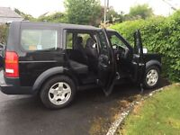 For sale Land Rover Discovery 3s 2.7 TDI V6 7 seater in Black