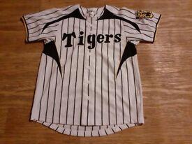 Hanshin tigers japan baseball shirt