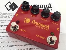 Diamond Fireburst Fuzz / Distortion Guitar / Bass