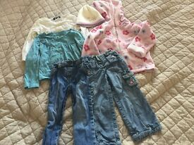 Girl's Clothes Bundle Size 3-4 Years
