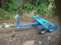 car towing dolly 4 wheel braked