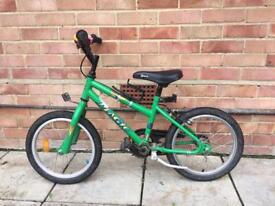 Green child bike