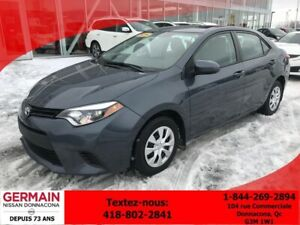 2014 Toyota Corolla CE -AUTOMATIQUE - BLUETOOTH - A/C -
