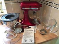 Kitchen Aid mixer - Red