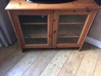 Ikea Wooden Tv Cabinet