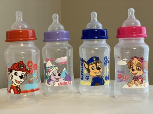 Paw Patrol Adult Baby Bottles with Wide Mouth Adult Silicone Nipple AB/DL, DD/LG