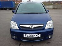 2008 Vauxhall Meriva Design 1.6 Petrol - 5dr Blue