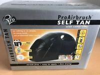 Self tanning machine