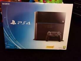 Urgent. Sony PlayStation 4 500GB Jet Black Console