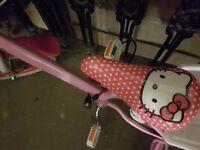 Kids bike hello kitty size 14