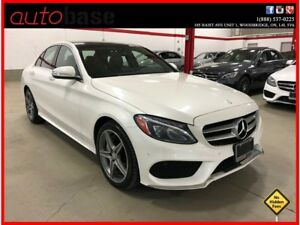2015 Mercedes-Benz C-Class C300 4MATIC PREMIUM PLUS SPORT CLEAN