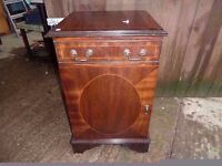 Dark wood Storage Unit with Lid access Delivery Available