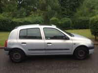 RENAULT CLIO 1.2 MOT 9 MONTHS CHEAP CAR TO TAX AND INSURE VERY CLEAN RELIABLE SMALL CAR