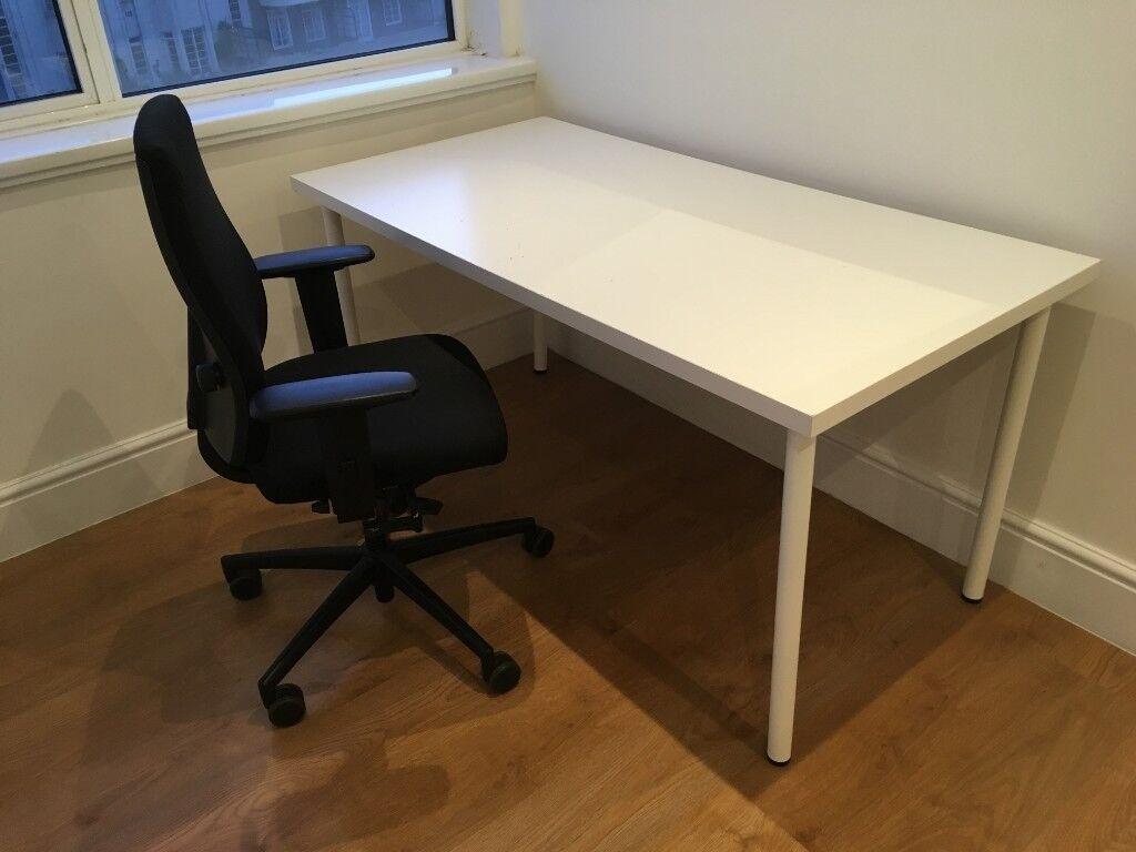 Ikea Study Desk And Chair Set Asap
