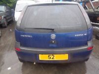BREAKING --- Vauxhall Corsa 1.2L Petrol ----2003