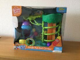 Scramble bug and Jungle Fun Ball Climber