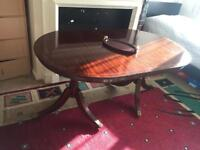 Antique Oval mahogany dining table £20