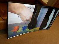 Samsung 55 inch Curved Smart TV faulty
