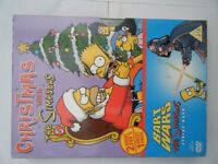 2 dvd box set of Christmas with the Simpsons. Preowned in very good condition.
