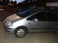 Vw sharan silver runs like new very good clean leatheret