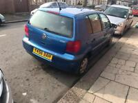 2001 volkswagen polo 1.4 automatic 5dr