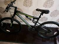 Bike muddyfox Livewire dual suspension moumtain