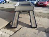 IFOR WILLIAMS PLANT TRAILER LOVELY EXAMPLE HEAVY DUTY RAMPS RARE SIZE NO TIMEWASTERS