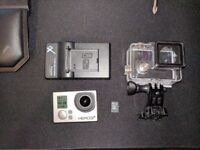 Go Pro Hero 3+ Silver 32GB - sd card - charger - waterproof housing