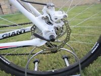 Giant Revel 3 (2012) disc Large mens mountain bike in mint condition with accessories, only used....