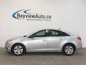 2012 Chevrolet CRUZE LS- AUTO! A/C! ON STAR! LOW KM'S!