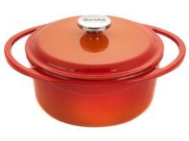 Berndes 4 litre Cast Iron Casserole Dish - New in Box