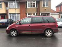 2002 FORD GALAXY 2.3 ZETEC 7 SEATER