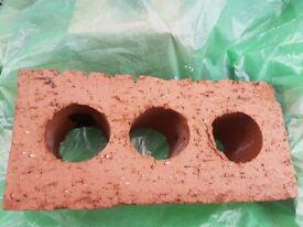 New 200 3 hole bricks
