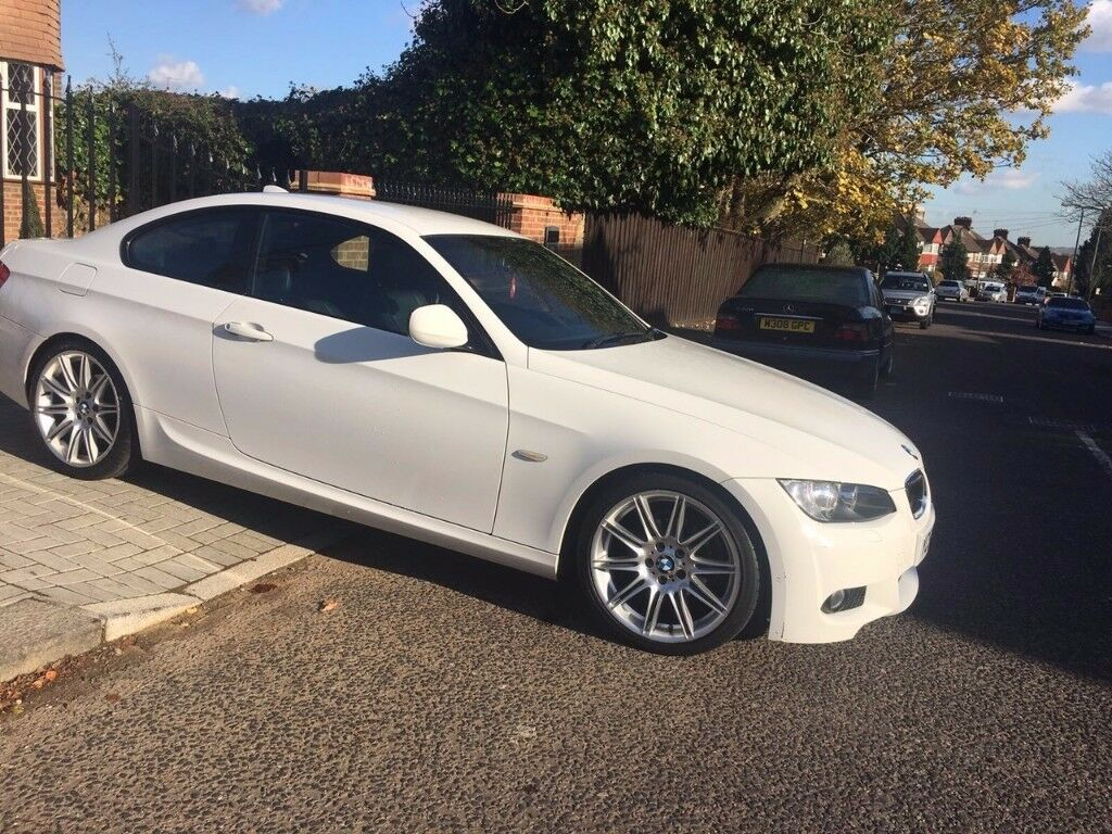 White Bmw 3 Series Coupe M Sport Auto Heated Seats Rear Parking