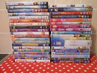 44 CHILDREN'S DVDS - £1 EACH OR £20 THE LOT