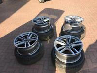 BMW 7 Series Alloy Wheels and Tyres ( Nearly New )