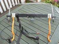 Bike Rack for SUV / 4x4 rear tyre mounted , two bike foldable
