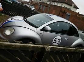 Vw beetle needs back axle 6 month runs mint