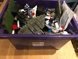 Lego style blocks, megablocks etc some incomplete halo sets
