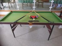 6FT X 3 FT SNOOKER TABLE