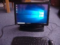 RM one touch all in one pc 19 inch widescreen , touch screen display , amd athlon 2 dual core, 2.,