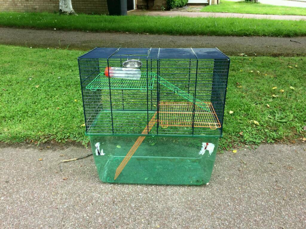 Gerbil cage/ariumin Norwich, Norfolk - Good clean order. Feeding bowl and water bottle