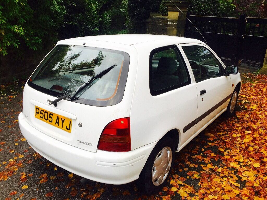 **GENUINE 54K+** TOYOTA STARLET 1.3 S + T BELT CHANGED @ 47K + NEW SHOCKERS, BRAKES, CLUTCH+MINTCAR!